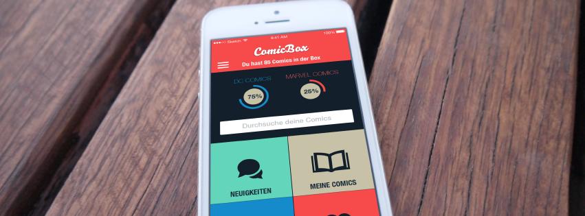 Comicbox iOS
