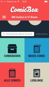 Comicbox Meine Sammlung