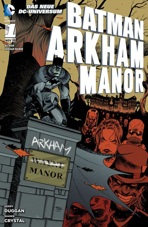 Arkham Manor Softcover