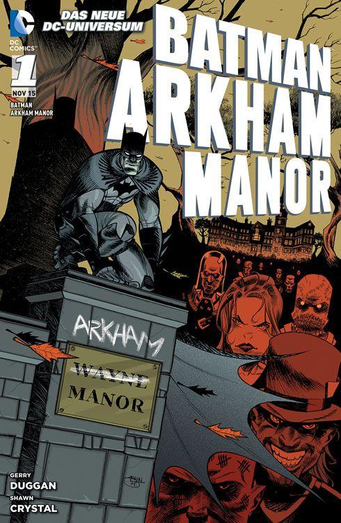 Arkham Manor Softcover