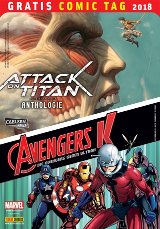Als die Titanen Manhattan angreifen, stellen sich die Marvel-Helden den Giganten aus einer anderen Dimension. Das ultimative Crossover zwischen Attack on Titan und Avengers. Inhalt: Attack on Titan Anthologie; Attack on Avengers; Avengers K; Marvel Legacy