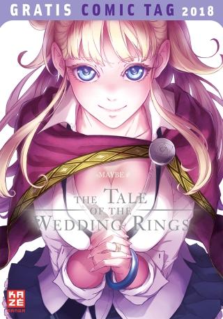 Seit er denken kann, ist Sato schon in seine Nachbarin Hime verknallt. Als er aber endlich den Mut dazu aufbringt, ihr seine Liebe zu gestehen, eröffnet sie ihm, dass sie fortgehen wird – für immer. Verdammte Axt! Und das soll es jetzt gewesen sein? Niemals! Um doch noch ihr Herz zu gewinnen, beschließt Sato, ihr zu folgen und findet sich unversehens in einem Abenteuer wieder, das er sich in seinen wildesten Fantasien nicht erträumt hätte. Seine Angebetete die Prinzessin eines magischen Königreiches und die letzte Hoffnung ihres verzweifelten Volkes. Um ihre Welt zu retten, muss Hime unbedingt heiraten, denn ihre Hochzeitsringe bergen ein mächtiges Geheimnis … Vor zweieinhalb Jahren erschien bei KAZÉ Manga die erste Serie des Künstlerduos MAYBE in Deutschland: die Mystery-Comedy Dusk Maiden of Amnesia. Nun folgt der nächste Streich, und diesmal mischen die Künstler ihre typische Handschrift aus Comedy, Fantastik und einem Hauch Fanservice mit einer epischen Helden-Sage.