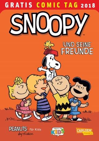 """""""DIE PEANUTS"""" gehören zu den ganz großen, zeitlosen Comics, was sich daran zeigt, dass sie seit Jahrzehnten von Kindern und Erwachsenen geliebt werden. Bei Carlsen erscheinen deshalb Bücher für unterschiedlichste Zielgruppen, wie die 26-bändige, bibliophil ausgestattete Gesamtausgabe für die Erwachsenen, die """"Peanuts Sonntagseiten"""" für die ganze Familie und die Reihe """"Peanuts für Kids"""" für die jüngsten Leser. Dieser Gratiscomic enthält farbige Comicstrips, Zeichenanleitungen und Rätseln daraus. Mehr von den PEANUTS auf: https://www.carlsen.de/comic/peanuts-buecher"""