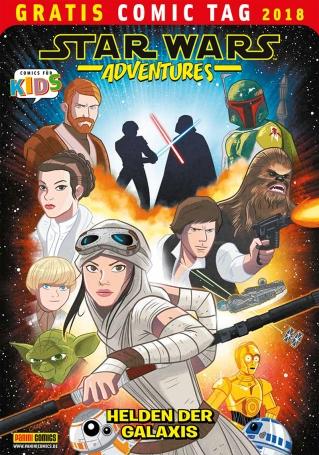 Neben einer Leseprobe zur Junior Graphic Novel zum Filmhit ROGUE ONE – A Star Wars Story enthält dieses spannende Heft zwei abgeschlossene Kurzgeschichten, davon eine Droiden-Story, die es in einer dt. Veröffentlichung exklusiv nur in diesem Heft gibt. Ein echtes Comichighlight für junge Star Wars-Fans.
