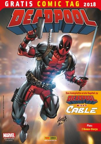 Deadpool, der Söldner mit der großen Klappe macht Jagd auf Cable, den Mutanten aus der Zukunft. Inhalt: The despicable Deadpool #287; Deadpool #900 (II, III)